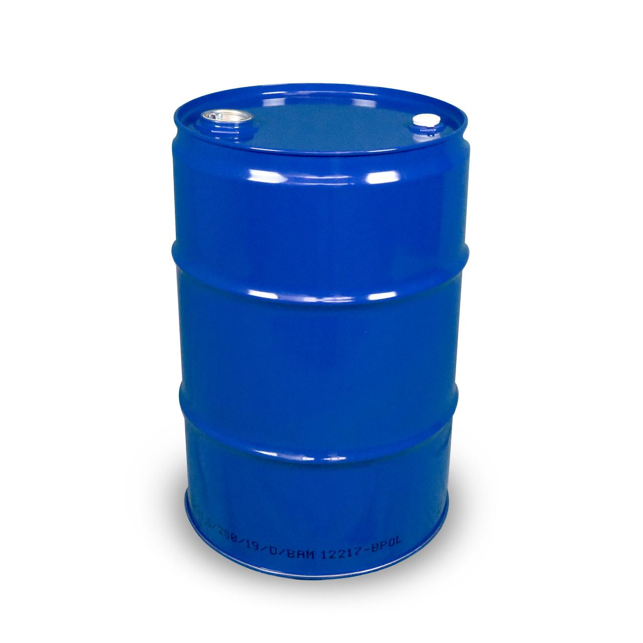 60 L Garagenfass, roh, blau 5010, UN Zulassung