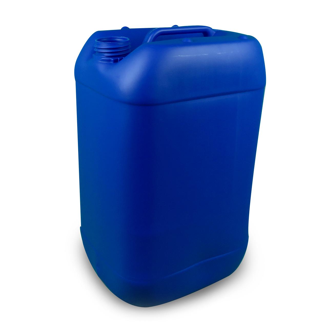 25 L Kunststoffkanister, blau, lebensmittelecht, UN Zulassung