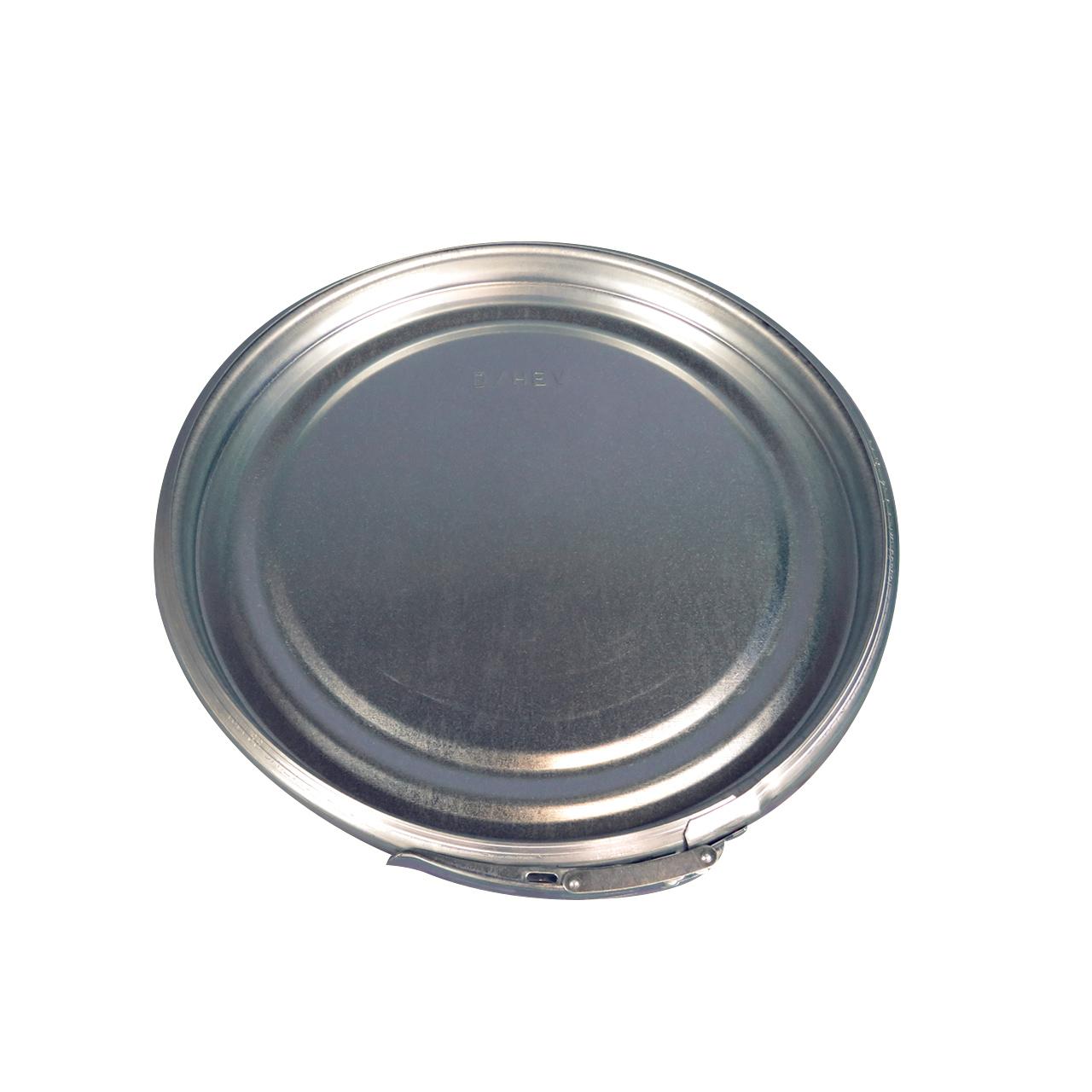 120 L Stahldeckelbehälter, lackiert, blau 5010, UN Zulassung