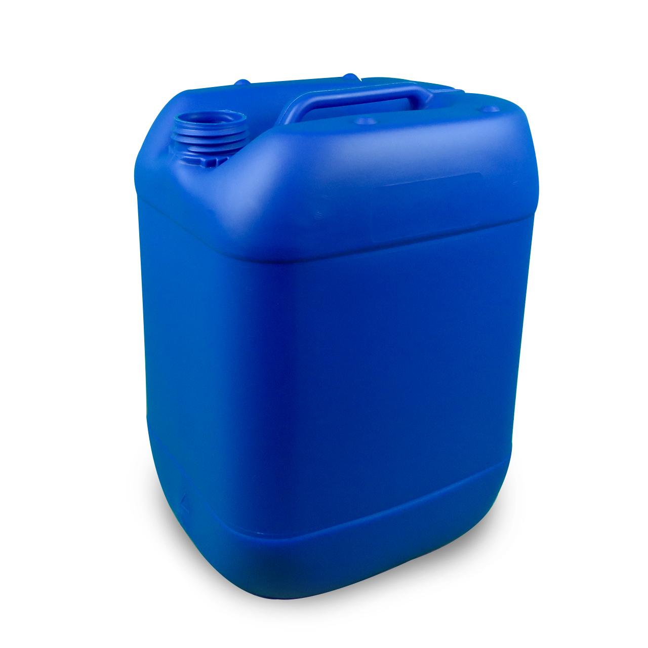 20 L Kunststoffkanister, blau, lebensmittelecht, UN Zulassung