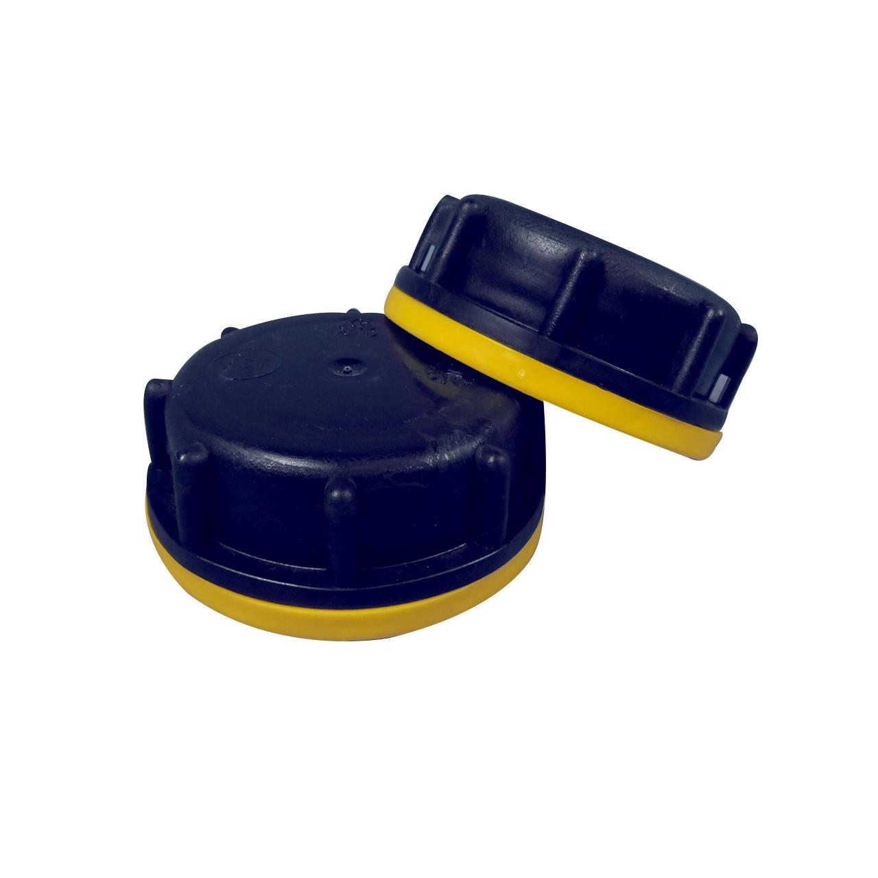 Kanisterverschluss OV51, schwarz, gelber Ring