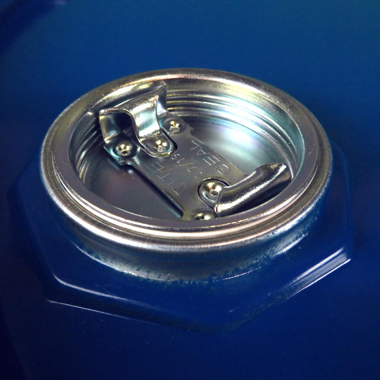 216,5 L Stahlspundfass, lackiert, blau 5010, UN Zulassung