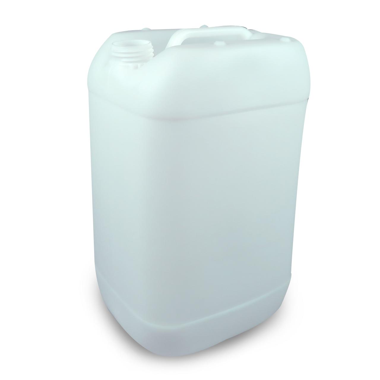 25 L Kunststoffkanister, natur, lebensmittelecht, 950g, UN