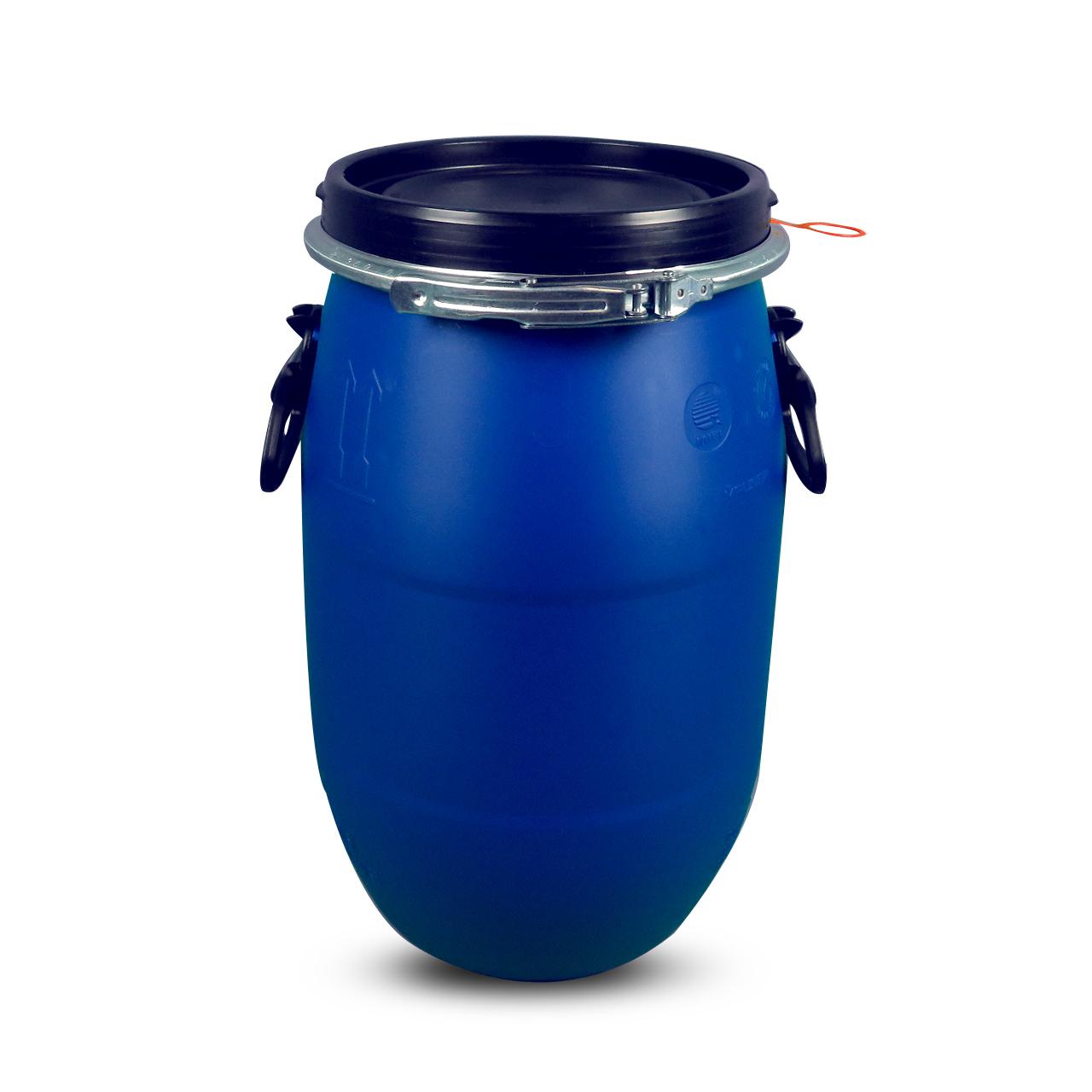 30 L Kunststoffdeckelfass, blau, MAUSER, UN Zulassung