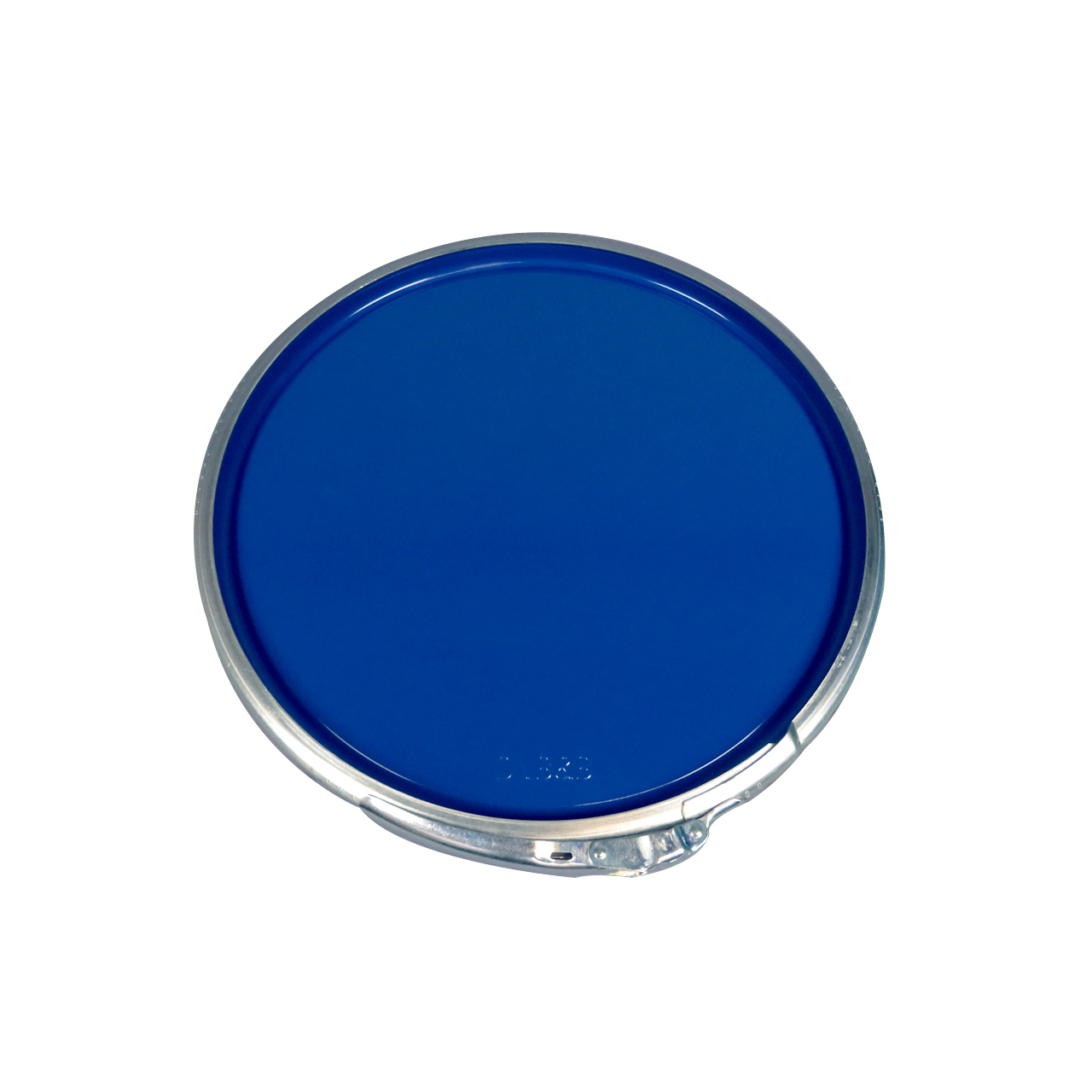 212 L Stahldeckelfass, lackiert, blau, UN (fest + flüssig)